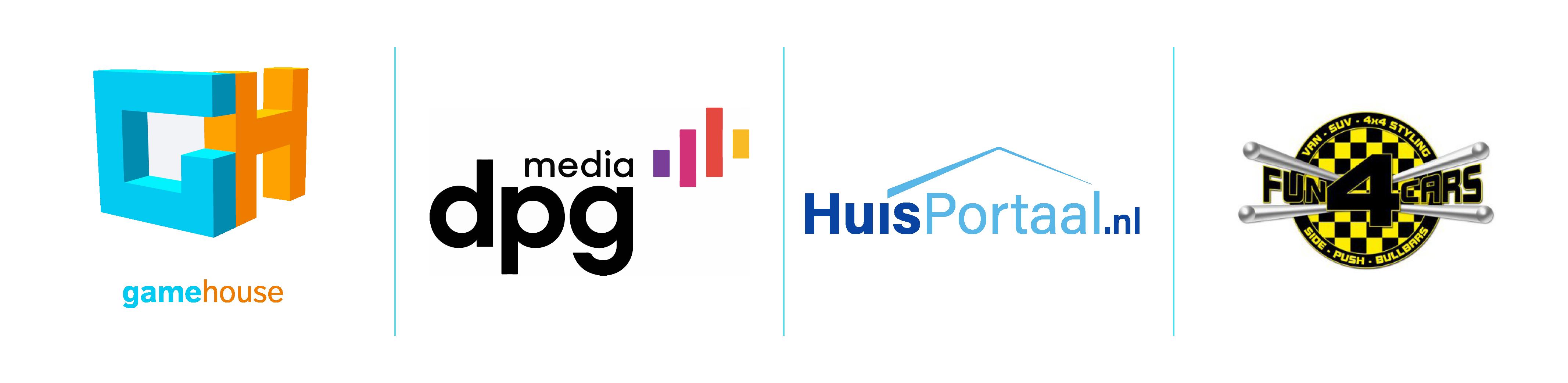 Voor deze bedrijven heb ik directe verkoop gerealiseerd. gamehouse | dpg media | HuisPortaal.nl | Fun4Cars